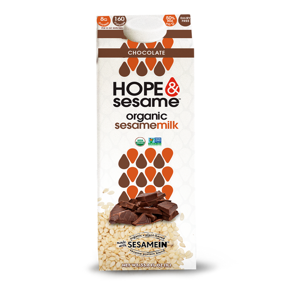 Hope & Sesame - Chocolate Sesame Milk - (1000ml)