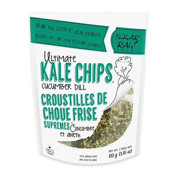 Ultimate Kale Chips - Cucumber Dill - (100g)