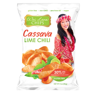 Wai Lana - Lime Chili Cassava Chips - (85g)