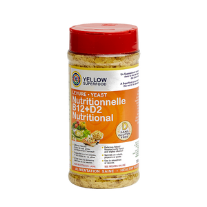 Yellow Superfood - B12+D2 Yeast - 115g