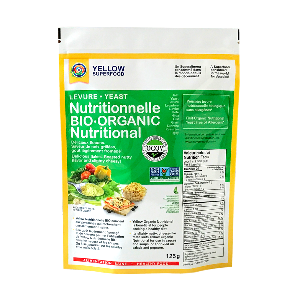 Yellow Superfood - Yellow Organic Nutritional Flakes 125g