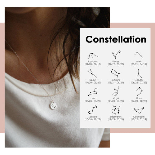 Necklace- Engraving Constellation (PREORDER)