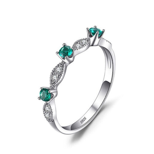 Ring- Crystal Emerald