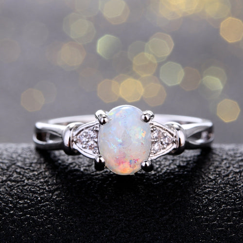 Ring- Opal Oval