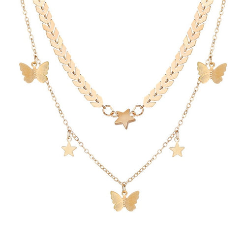 Necklace- Butterfly Star