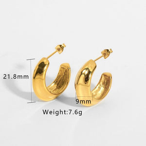Earring - Golden Everyday 18K Gold Plated