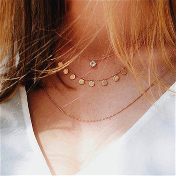 Necklace- Choker Summer