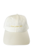 Wear Your SPF Cap