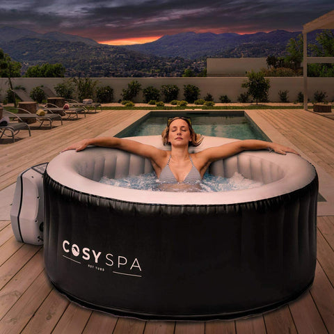 cosyspa inflatable 6 person hot tub