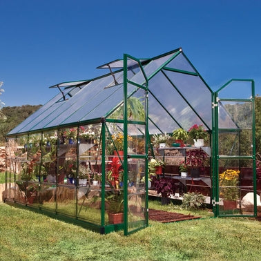 Palram Balance 8 x 12 ft Greenhouse in Green
