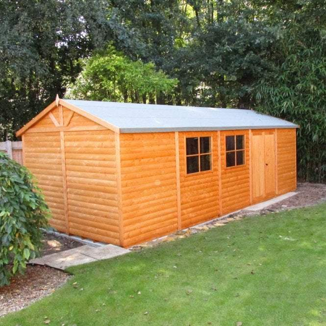 Shire Mammoth Loglap Shed 12 x 30