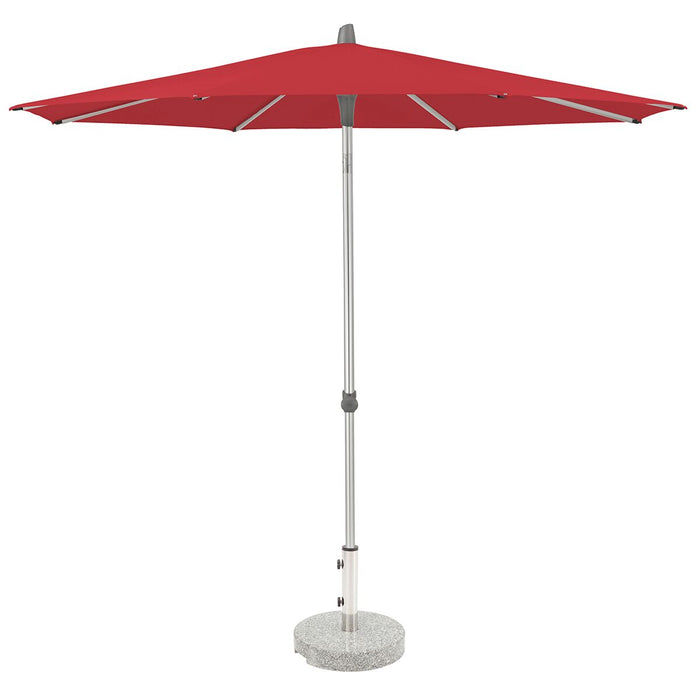 Glatz Alu Smart 2.2m Round Class 2 - Red 162 - gardenandpatio
