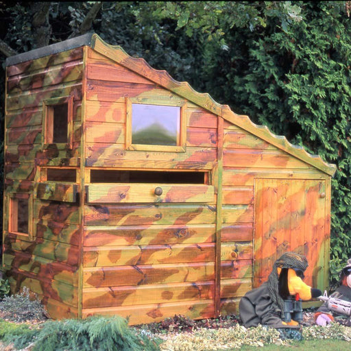 Shire Command Post Playhouse 6x4