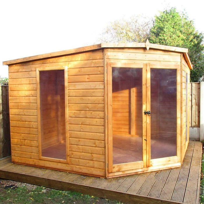 Shire Barclay Corner Summerhouse 10x10