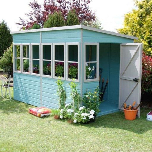 Shire Sun Pent Shiplap Potting Shed 10x8
