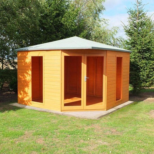 Shire Larkspur Corner Summerhouse 10x10