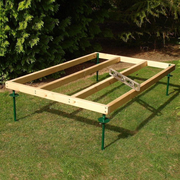 Shire Pressure treated timber base 6x4