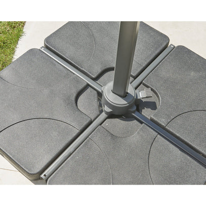 Norfolk Leisure Royce Plastic Covered 4 Part Concrete Base 100kg