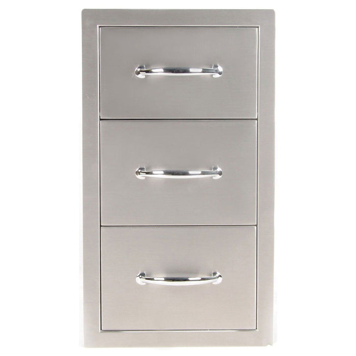 SunStone  Outdoor Kitchen Premium drawers & paper holder combo