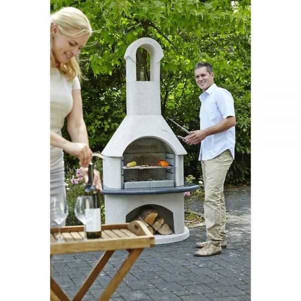 Buschbeck Ambiente Masonry Wood Fired BBQ