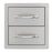 SunStone Outdoor Kitchen Double Drawer