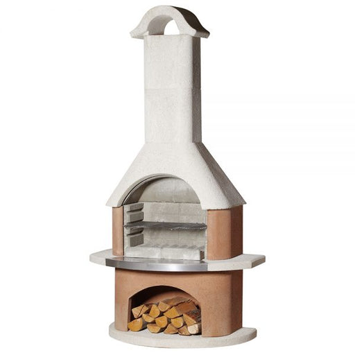 Buschbeck Davos Masonry Wood Fired BBQ