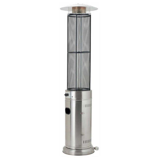 Lifestyle Emporio Stainless Steel 15kW Flame Gas Patio Heater - gardenandpatio