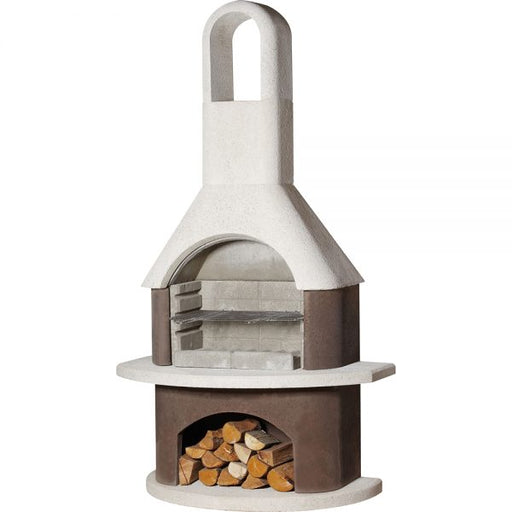 Buschbeck Milano Masonry Wood Fired BBQ