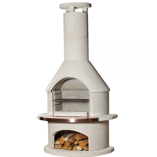 Buschbeck Rondo Masonry Wood Fired BBQ