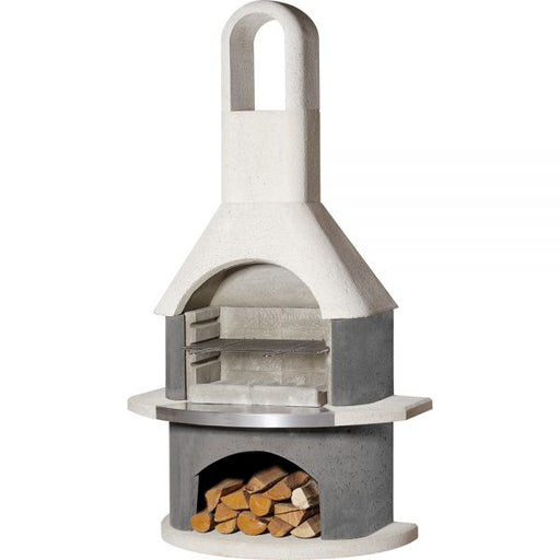 Buschbeck Stockholm Masonry Wood Fired BBQ