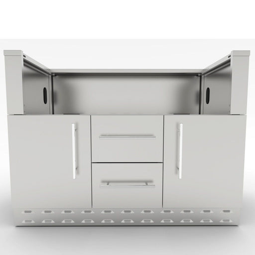 SunStone Outdoor Kitchen Cabinet for 42″ Hybrid Charcoal