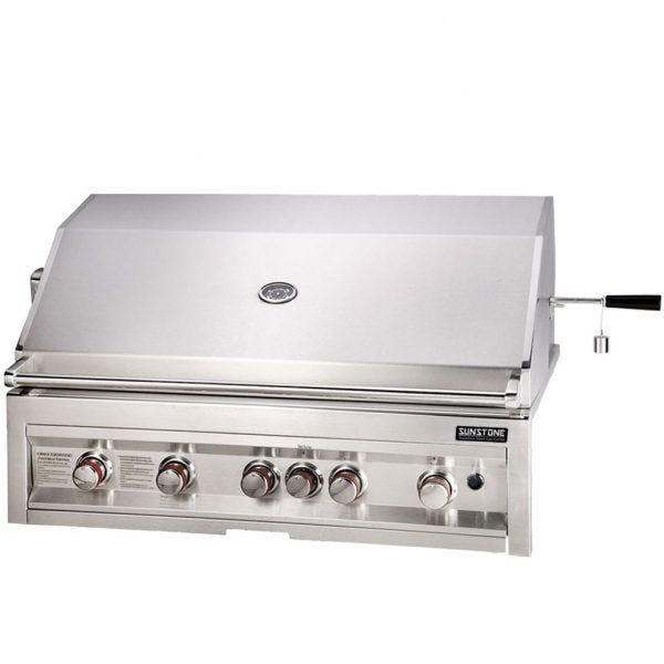 SunStone Outdoor Kitchen Sun Series 5 Burner Gas Grill with Infrared