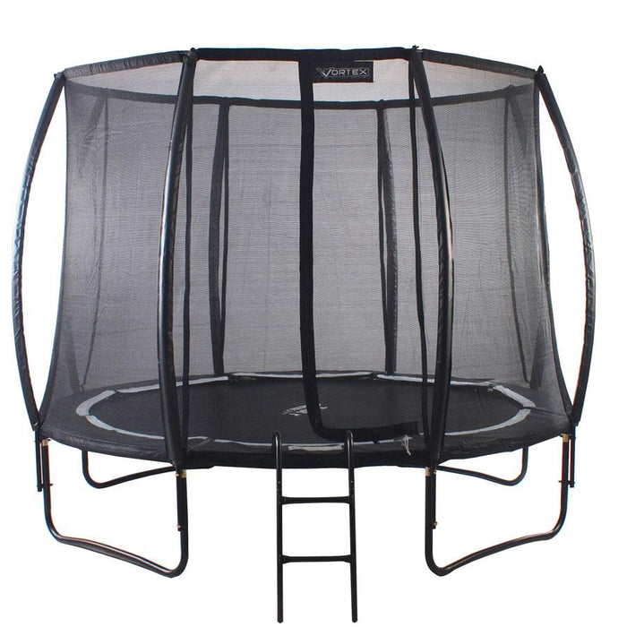 Telster 14FT Trampoline Vortex Black Edition Package
