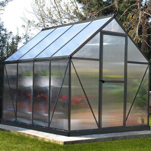 Palram Mythos 6 x 8 ft Greenhouse in Grey