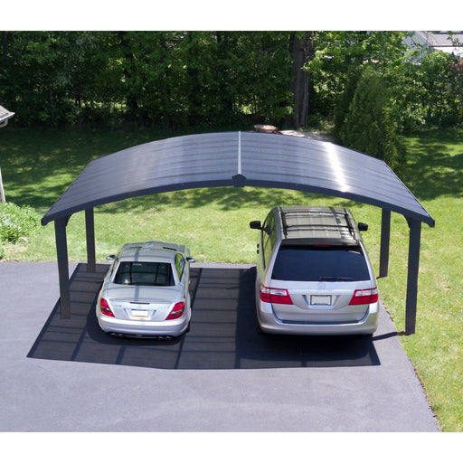 Palram Arizona Wave 19 x 16 ft Double Carport