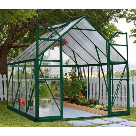 Palram Balance 8 x 8 ft Greenhouse in Green