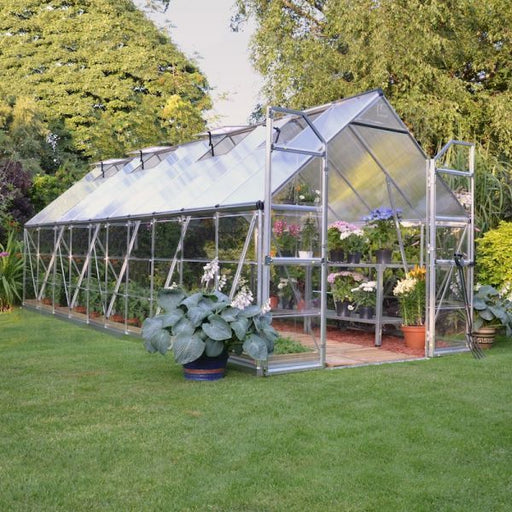 Palram Balance 8 x 20 ft Greenhouse in Silver - Extended