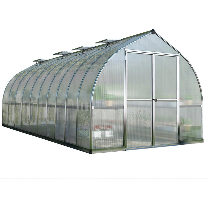 Palram Bella 8 x 20 ft Greenhouse in Silver