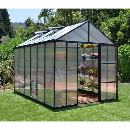 Palram Glory 8 x 12 ft Premium Greenhouse