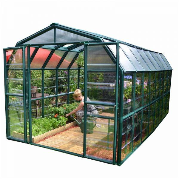 Palram Grand Gardener Clear 8x16 Greenhouse