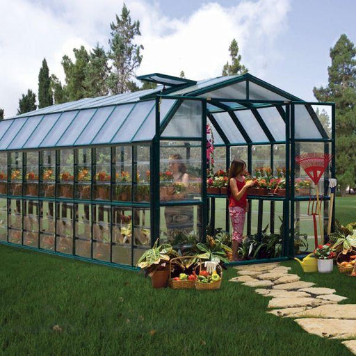 Palram Grand Gardener Clear 8x20 Greenhouse