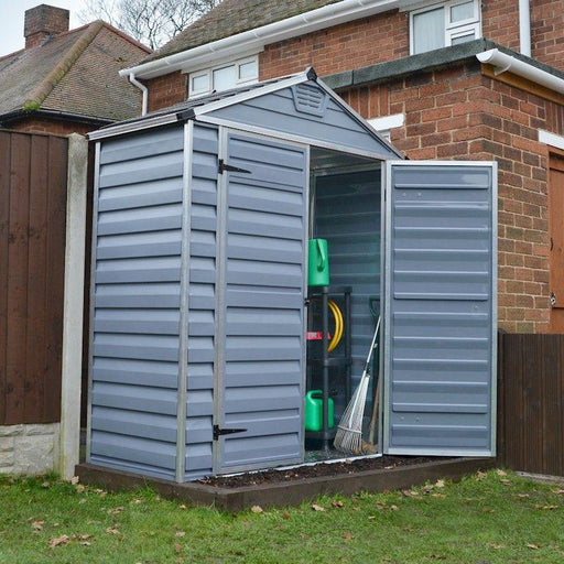 Palram Skylight Shed 6x3 Dark Grey