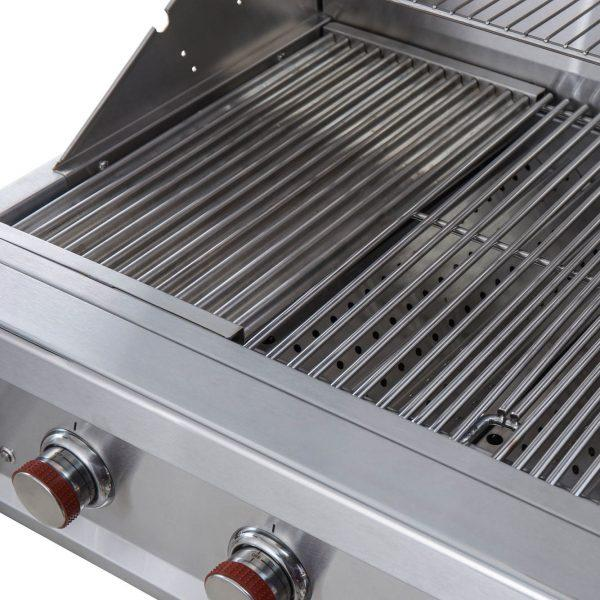 SunStone Outdoor Kitchen Ruby Series 5 Burner Gas Grill with Infrared