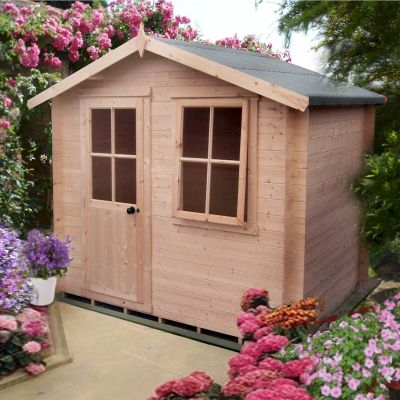 Shire Avesbury Log Cabin 10x10