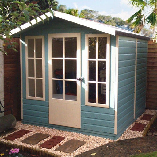 Shire Chatsworth Summerhouse 7x7 with optional Verandah
