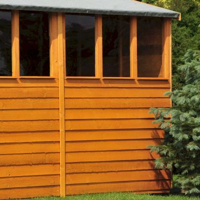 Shire Overlap Garden Shed 12x6 with Double Doors