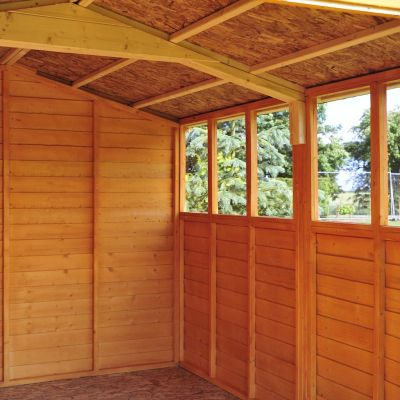 Shire Overlap Garden Shed 10x20 with Double Doors