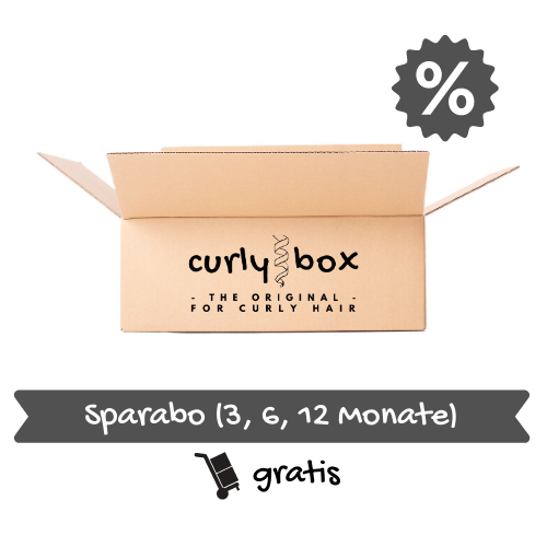 CURLY BOX for thick hair - annual subscription