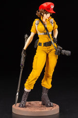 Bishoujo G.I. JOE LADY JAYE CANARY ANN COLOR STATUE