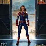 **Pre Order**Mezco One 12 Captain Marvel Action Figure - Toyz in the Box